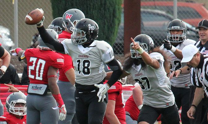 Azusa Pacific forced five turnovers against Simon Fraser, with GNAC Defensive Player of the Week Robert Bohanna forcing two fumbles.