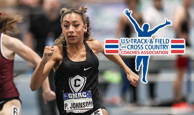 Paige Johnson earned All-West Region honors in the 60 meters, 60-meter hurdles, high jump, long jump and pentathlon.