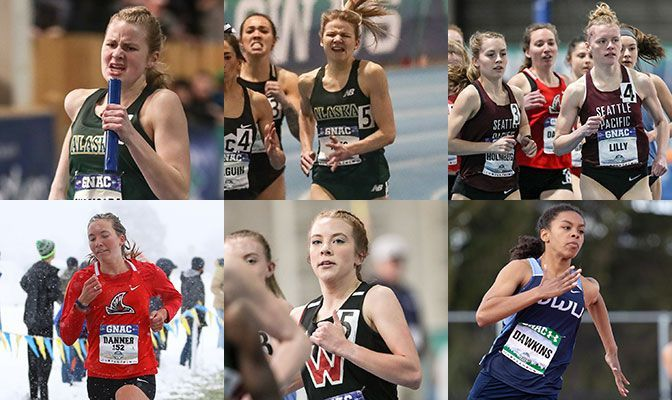Seven Women Earn Academic All-District XC/Track Honors