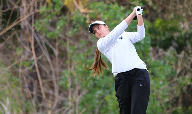 Cammie Decker was named the GNAC Women's Golf Player of the Year in 2018 and 2019.