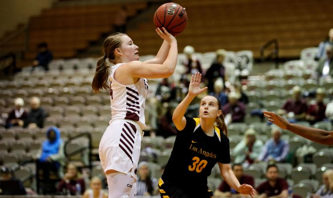 Seattle Pacific's Hailee Bennett scored 44 points and 14 rebounds in two games to lead the Falcons to their first two wins of the season.