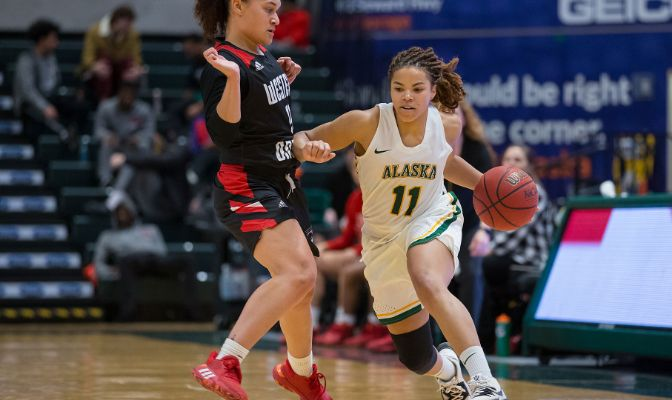 Alaska Anchorage's Safiyyah Yasin ranks sixth in the conference with 14.4 points per game while also ranking 12th in Division II with 39 steals.