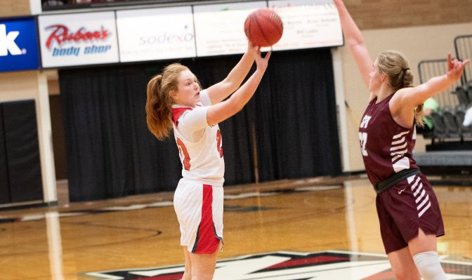 Cami Knishka has played in 12 games for the Nighthawks in 2019-20, highlighted by a seven-point, four-rebound performance at Alaska on Jan. 9.