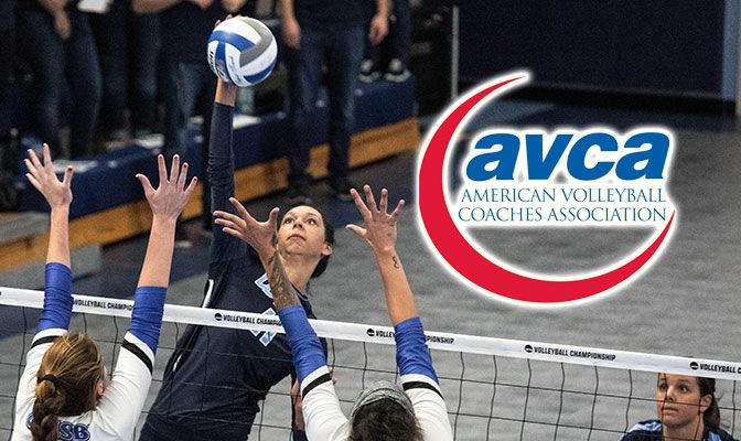 Senior middle blocker Kayleigh Harper earned Second Team All-American honors from the AVCA in 2018. She finished third in Division II with a .410 hitting percentage.