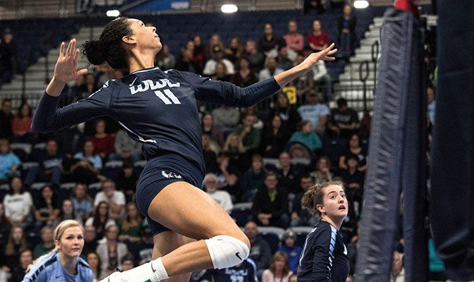 A Second Team AVCA All-American in 2018, Kayleigh Harper finished third in Division II with a .410 hitting percentage.
