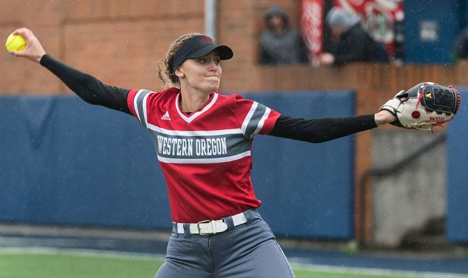 Chandler Bishop finished with a 3.80 earned run average and 13 strikeouts in the pitcher's circle in 2020. She also had eight hits and 10 runs batted in at the plate.