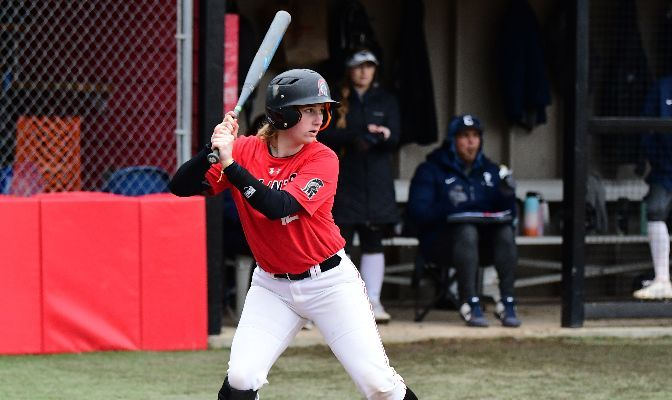 Julia Lucas is batting .290 in 2021 with 20 hits, nine runs and 21 RBI. She ranks No. 4 in the conference with eight doubles.