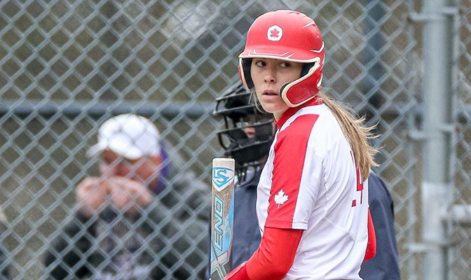 Amanda Janes led Simon Fraser in both home runs and runs batted in during both the 2019 and 2020 seasons.