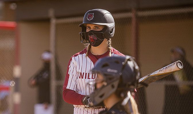 Central Washington's Harlee Carpenter leads Division II with eight triples as the Wildctas lead Division II with 18 three-base hits.
