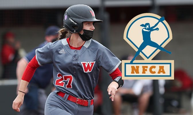 Western Oregon's Bishop Named NFCA Player Of The Week