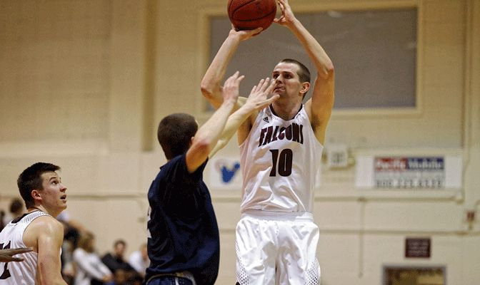 Riley Stockton led the Falcons to conference tournament titles in 2013, 2014 and 2015.