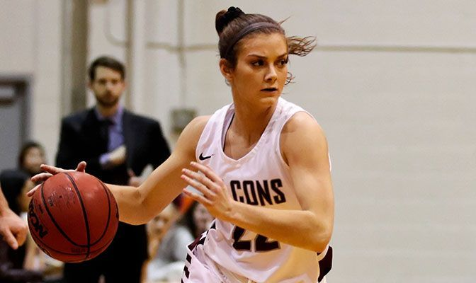 Ashley Alter's week included a pair of back-to-back 20-plus point performances against Saint Martin's.