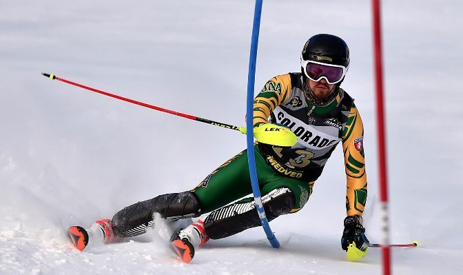 Michael Soetaert finished 26th in the giant slalom at the NCAA Championships as a junior in 2019-20.