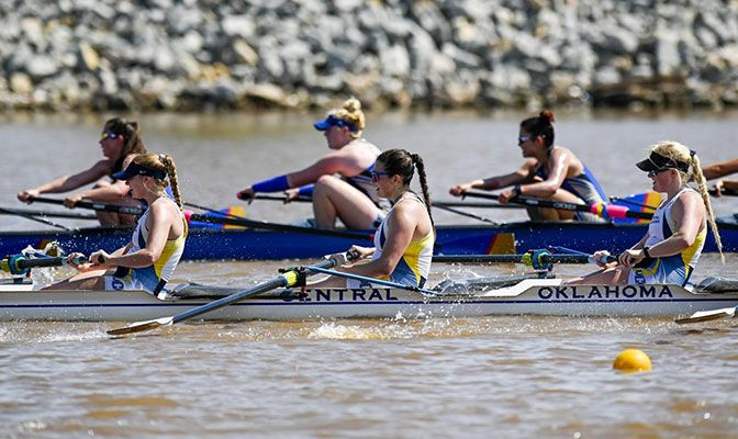 Central Oklahoma scored 30 points to win last year's Division II national title, sweeping both the varsity 8+ and varsity 4+ grand finals.
