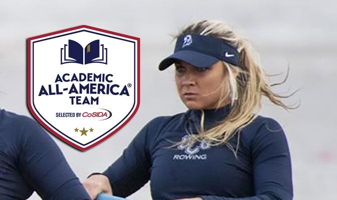 Bailee Thomas was also named the Elite 90 Award winner at the 2019 NCAA Division II Women's Rowing Championships.