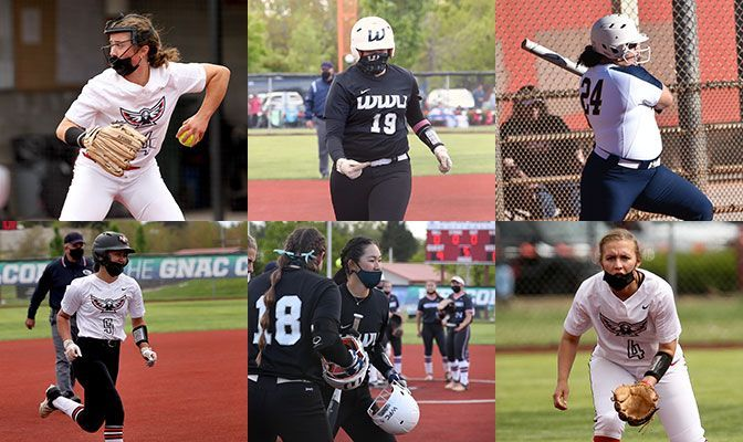 Six GNAC Players Land Softball Academic All-District Honors