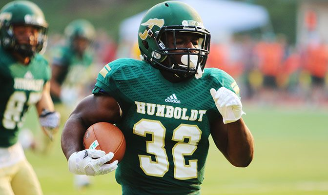 Humboldt State's Ja'Quan Gardner set three GNAC single-game record and tied or broke five career marks in a 52-49 victory over Azusa Pacific.