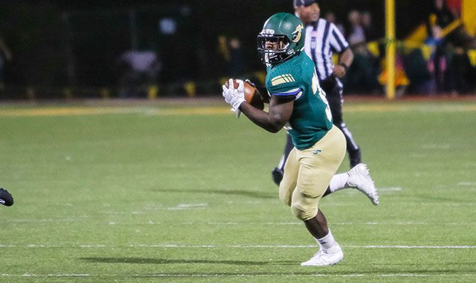 Humboldt State's Ja'Quan Gardner closes his collegiate career as the GNAC all-time leader in seven different categories.