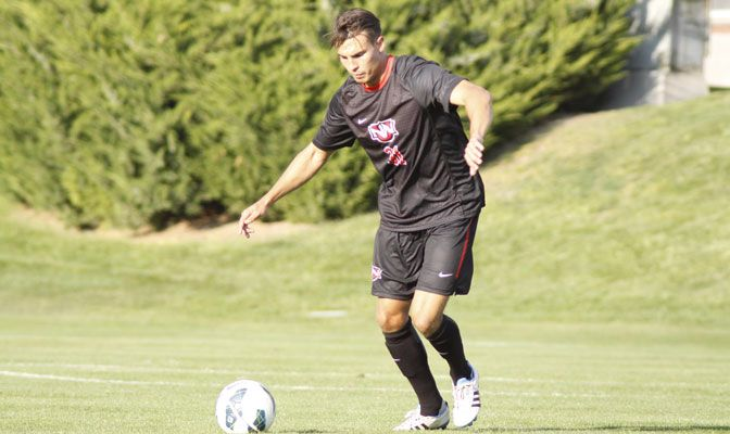 GNAC Defensive Player of the Week, Yannick Petzschke, helped shutout WWU and keep SFU scoreless in the final 76 minutes.
