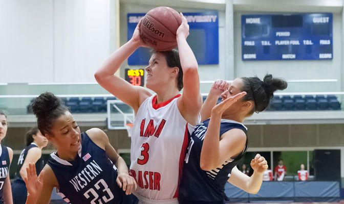 Simon Fraser's Erin Chambers led the GNAC in points per game last season at 22.9 while adding 2.3 assists each contest.