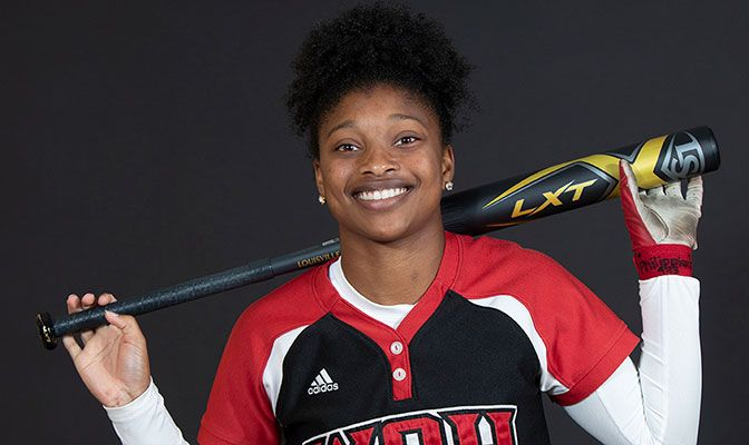 In seven games this season, Ayanna Arceneaux is batting .440 with 11. hits, two doubles, two RBI and six runs.