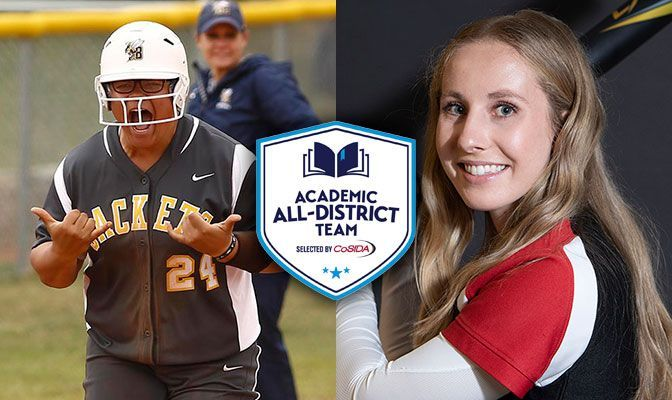 Fisher, Drury Earn CoSIDA Academic All-District Honors