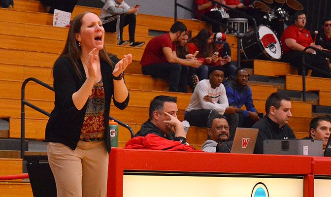 Holli Howard-Carpenter arrived at Western Oregon after three years as the associate head coach at her alma mater, Cal State East Bay.