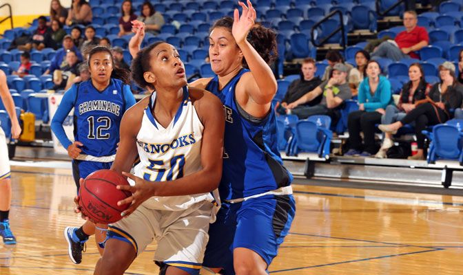 Stephanie Toumson and Alaska are 5-0 this year, winning by an average of 19.4 points per game.