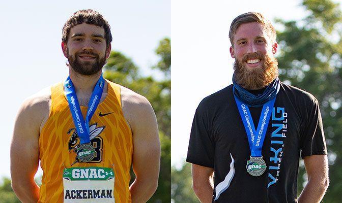 Ackerman, Warren End Seasons With All-American Trophies