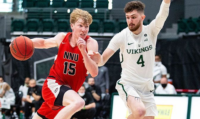 Picking up where he left off as a freshman, sophomore guard George Reidy is averaging 13.9 points per game.