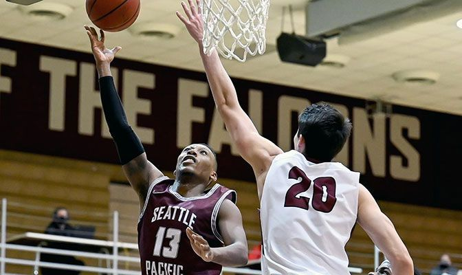 Seattle Pacific guard Divant'e Moffitt leads his team in scoring with an average of 18.5 points per game.
