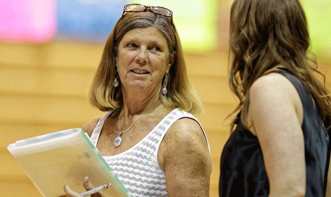 Seattle Pacific head coach Laurel Tindall has won National Coach of the Year honors four times.