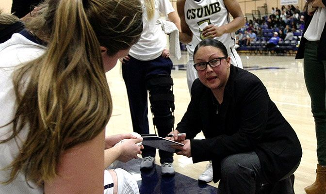 Kerri Nakamoto spent five seasons as head coach at Cal State Monterey Bay. She has also been an assistant coach at Cal Poly and University of San Diego.