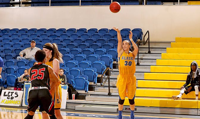 The Nanooks earned their first win of the season with a 56-50 win against Hawaii Hilo Sunday afternoon. UAF outrebounded the Vulcans 35-24 in the contest.