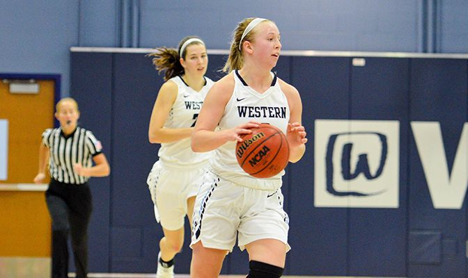In the Vikings' opening GNAC win on Tuesday, sophomore guard Lexie Bland tallied 15 points and three assists in Western Washington's 74-60 victory over Simon Fraser.