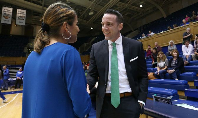 Now in his sixth year as Alaska Anchorage head coach, Ryan McCarthy played his college basketball and later coached at Northwest Nazarene.
