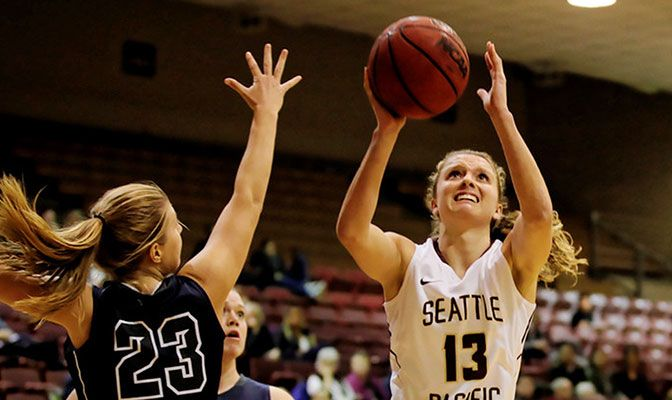 Seattle Pacific's Jordan McPhee is a three-time All-Academic Team selection and carries a 3.98 GPA as a business administration major.