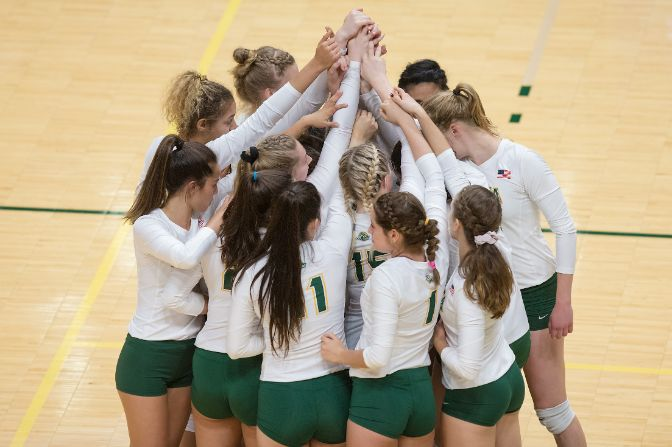 Alaska Anchorage volleyball took home the inaugural Team of the Week honors for the 2018-19 season.