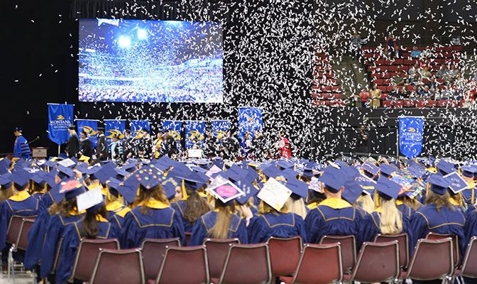 The GNAC posted a federal graduation rate of 68 percent, nine-year high, and an academic success rate of 78 percent, also a nine-year high. Photo courtesy of Montana St. Billings.