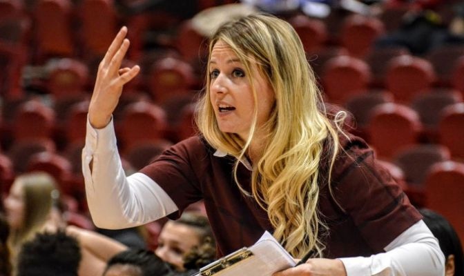 Randi Richardson-Thornley is in her third season as head coach of the Central Washington women's basketball program.