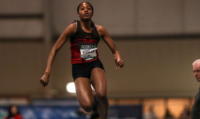 A native of Lacey, Washington, Saint Martin's sophomore Keshara Romain will look to top last year's performances that earned her selection as the GNAC Track and Field Female Freshman of the Year.