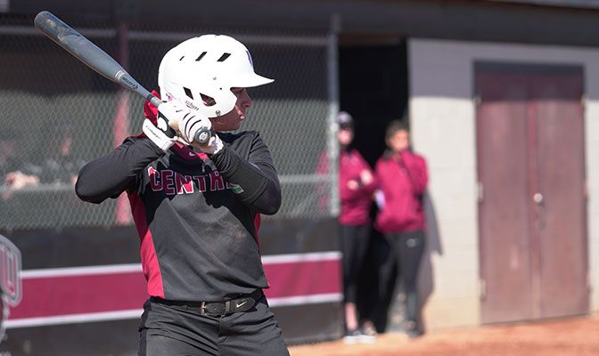 Central Washington's Theresa Moyle hit .700 in four games to lead the Wildcats to a sweep of Montana State Billings.