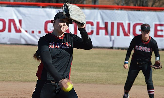 Central Washington's Taylor Williams threw the sixth no-hitter in school history on Sunday, earning GNAC Pitcher of the Week honors.