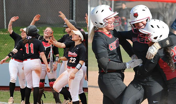 Northwest Nazarene (left) is in the GNAC Championships for the first time while Central Washington is making its fifth appearance.