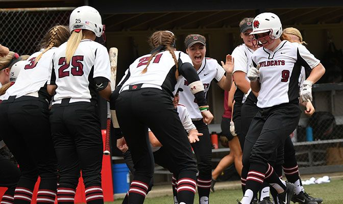 Central Washington finished 2017 with a 34-15 record and finished one game ahead of Western Washington in the GNAC standings at 20-8.
