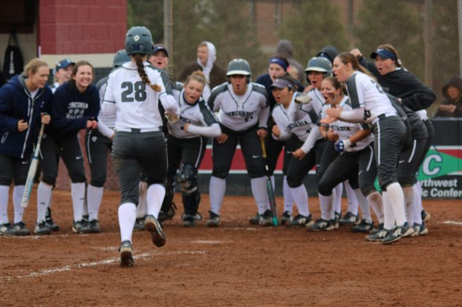 There was plenty to celebrate as the Cavaliers offense exploded in sweeps of Saint Martin's and Central Washington.