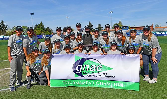 With the GNAC Championships win, Concordia earns the conference's automatic bid to the NCAA Division II Softball Championship. Photo by Phil Sedgwick.
