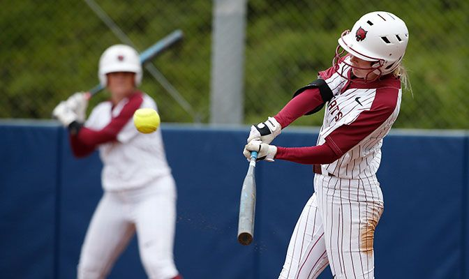 Kastning's fifth home run of the season was one of three Central Washington hits on the day.