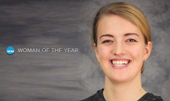 Edgar Is Nominee For NCAA Woman Of The Year Award