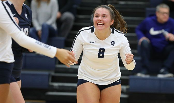 Cox played in nine matches and saw action in 23 sets in her freshman season at Concordia.